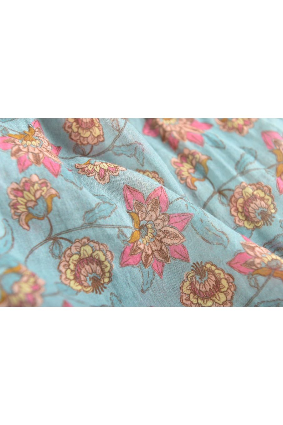 boheme chic vintage robe fille marceline turquoise flowers