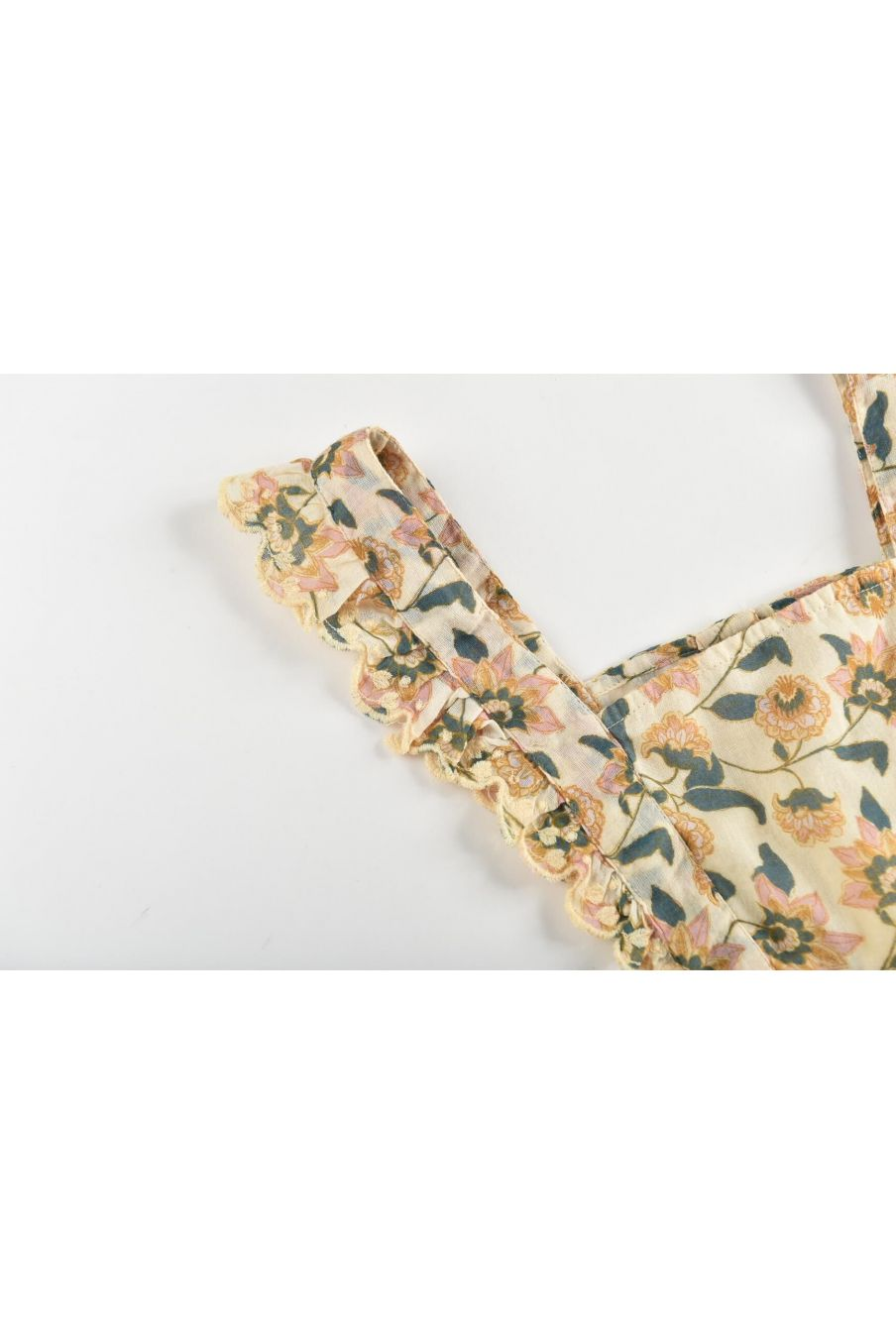boheme chic vintage robe fille mistinguette cream flowers