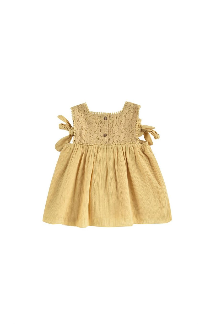boheme chic vintage robe bébé fille paolina soft honey