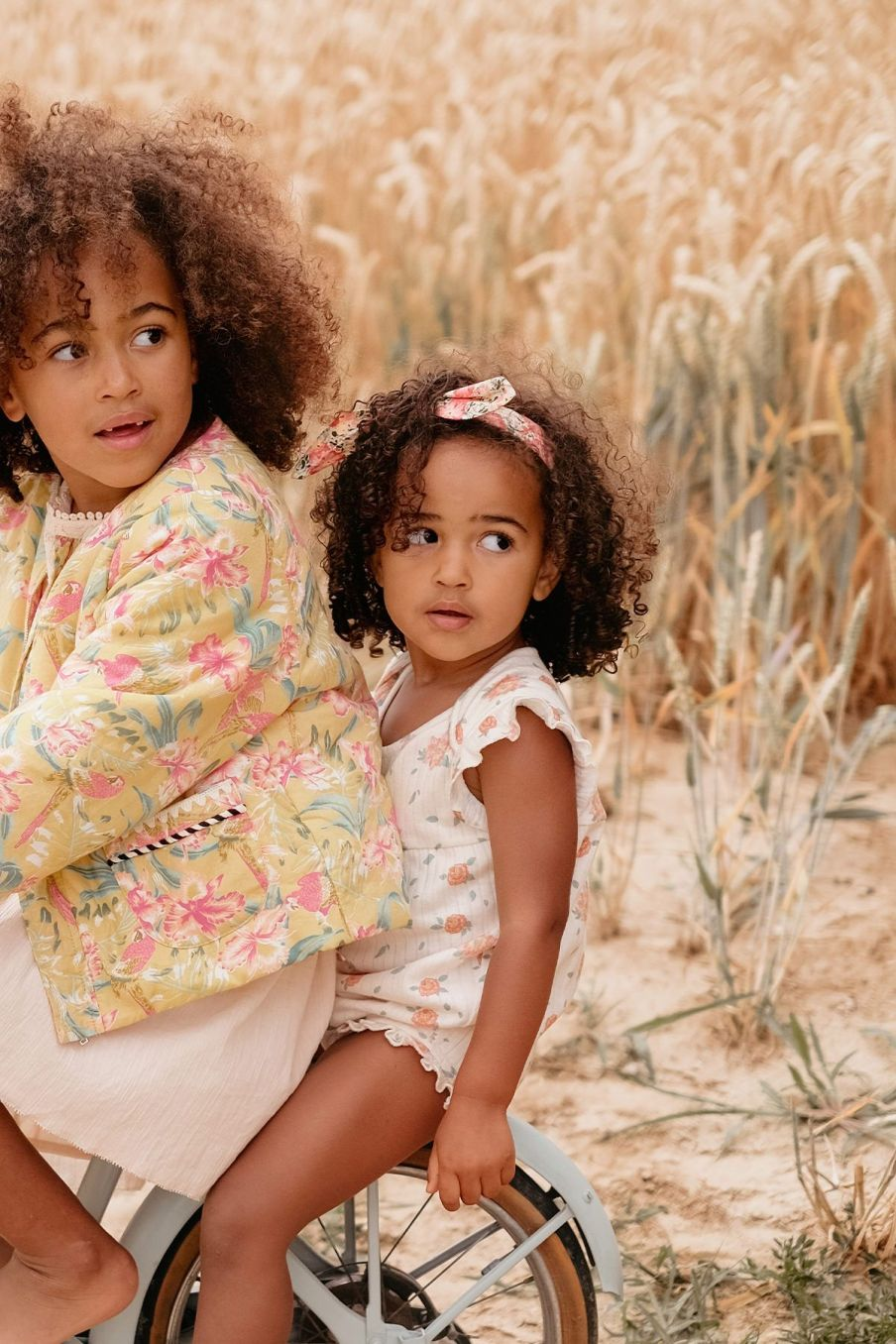 boheme chic vintage bandeau bébé fille cally pink meadow
