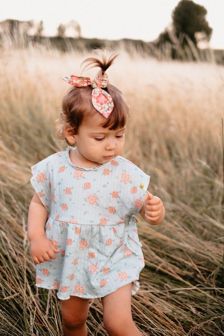 boheme chic vintage chouchou fille kimmi pink meadow