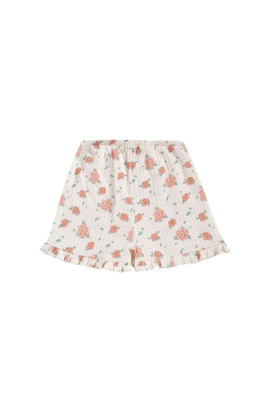 boheme chic vintage short fille anchi off-white flowers