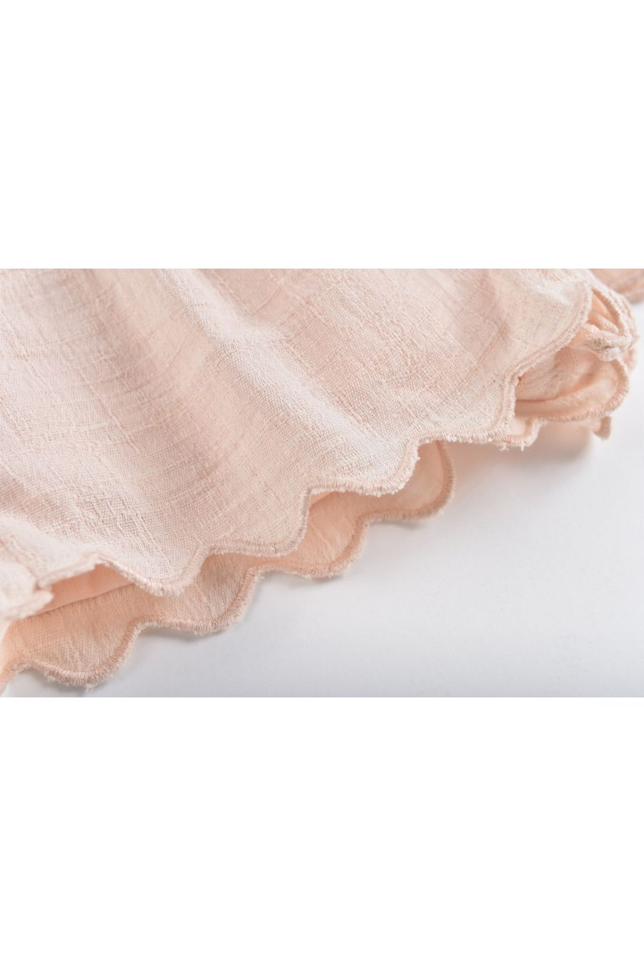 boheme chic vintage short fille malaika blush
