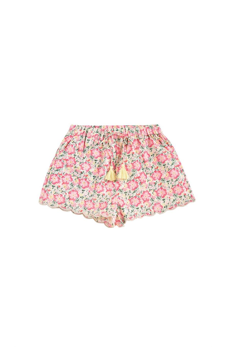 boheme chic vintage short fille vallaloid pink meadow