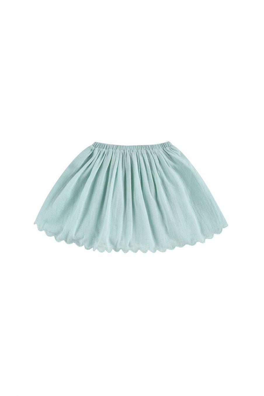 boheme chic vintage jupe fille riola amande