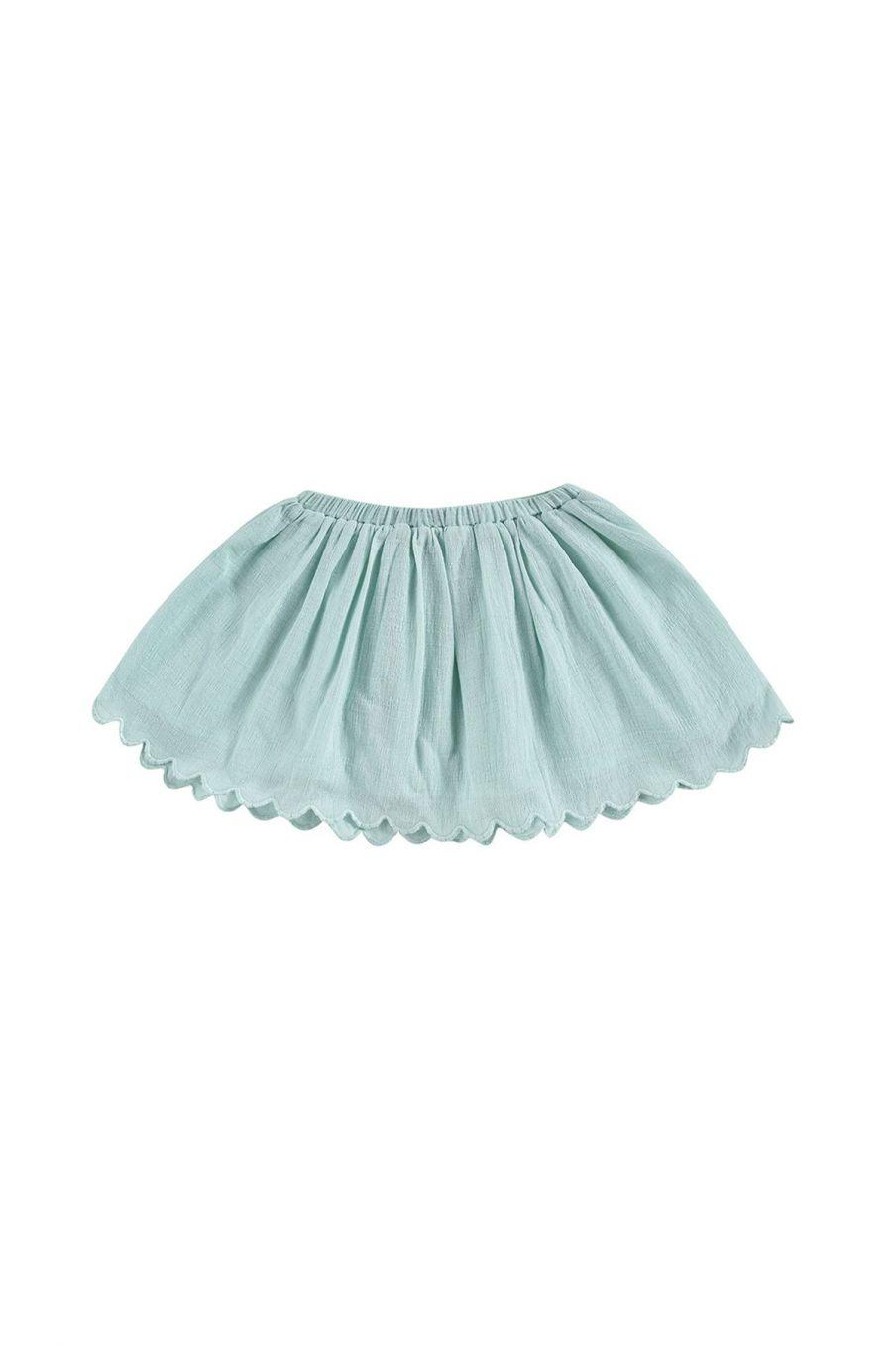 boheme chic vintage jupe bébé fille riola amande