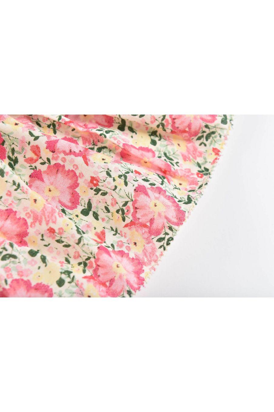 boheme chic vintage jupe fille salina pink meadow