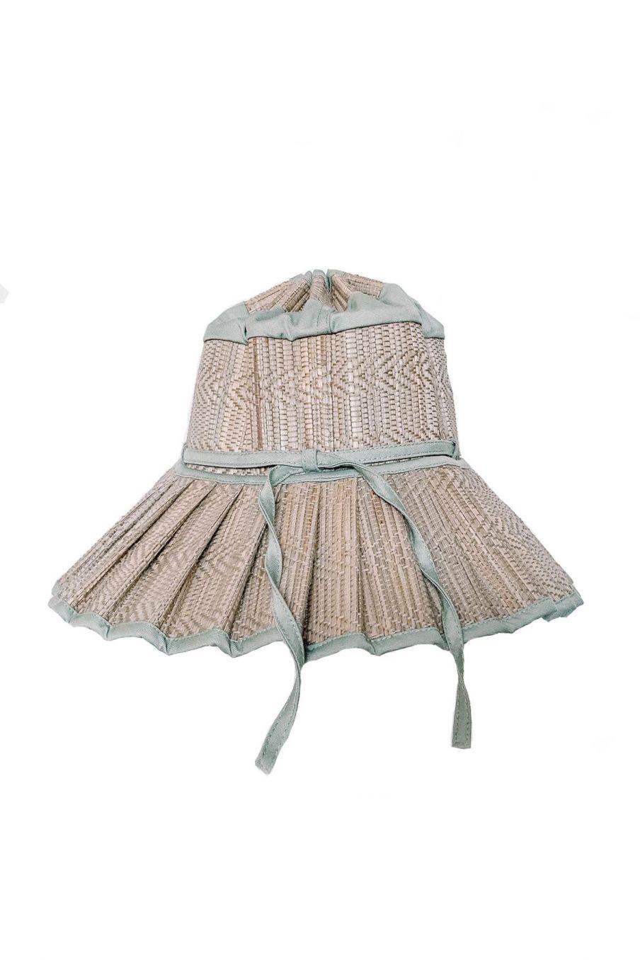 boheme chic vintage chapeau bébé fille capri sea foam