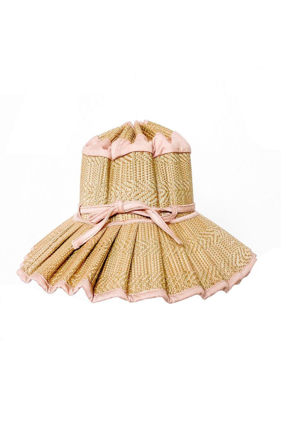 boheme chic vintage chapeau fille capri sumatra