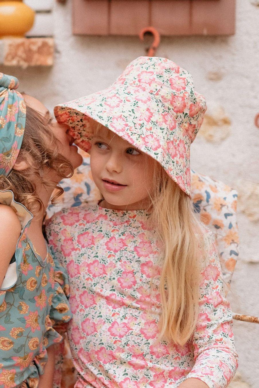 boheme chic vintage chapeau fille lagik pink meadow
