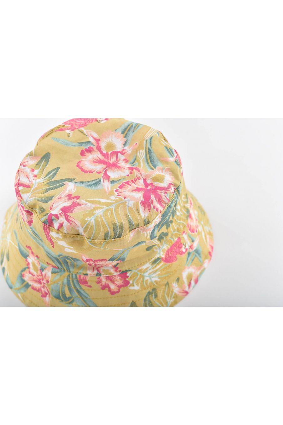 boheme chic vintage chapeau bébé fille lagik soft honey parrots