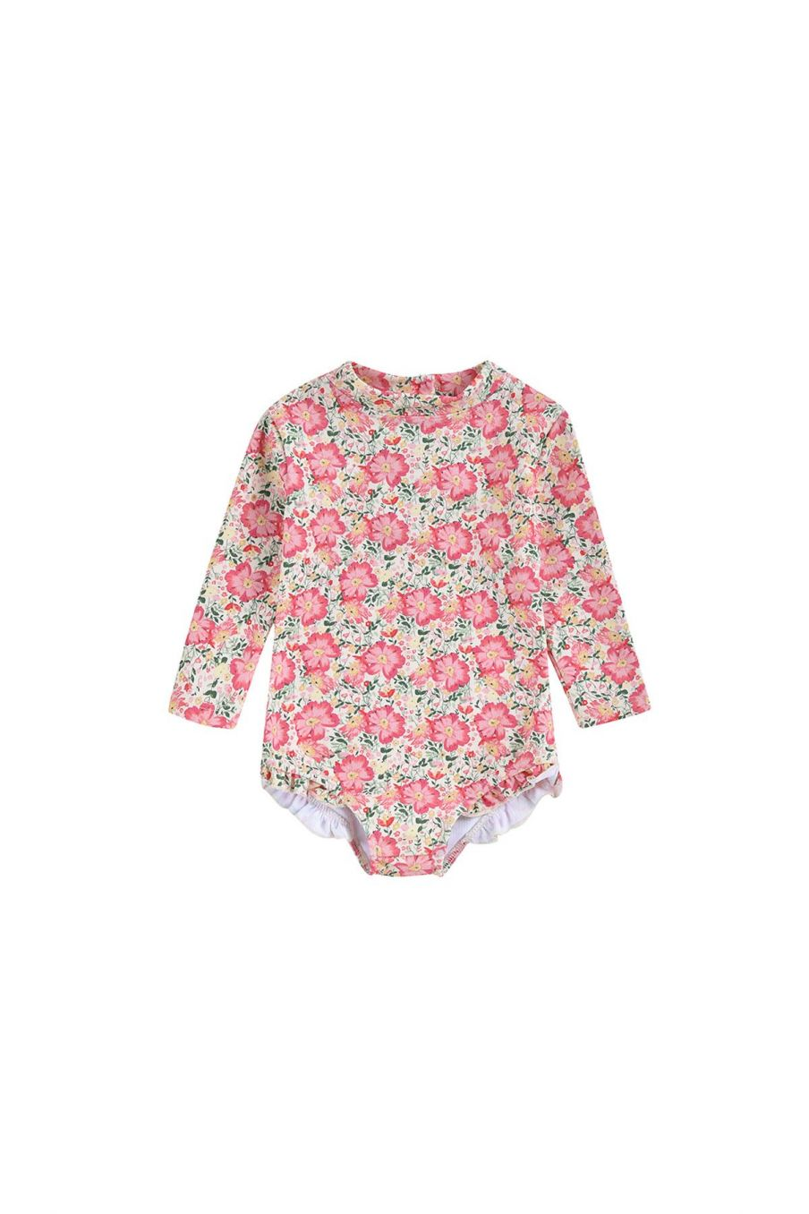 boheme chic vintage set de protection uv bébé fille aurelie pink meadow