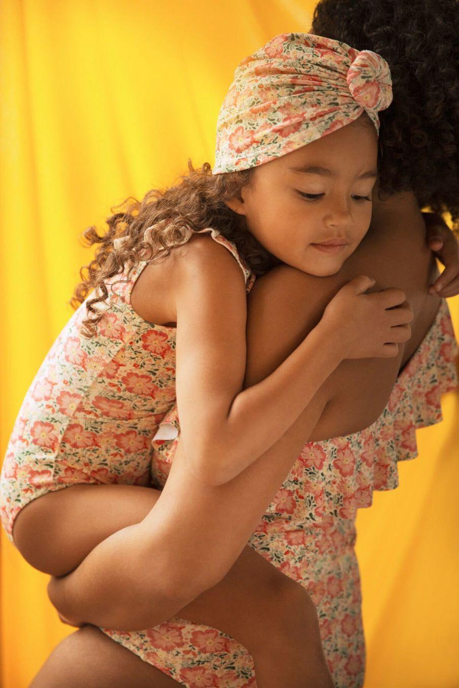 boheme chic vintage maillot de bain femme copacabana pink meadow