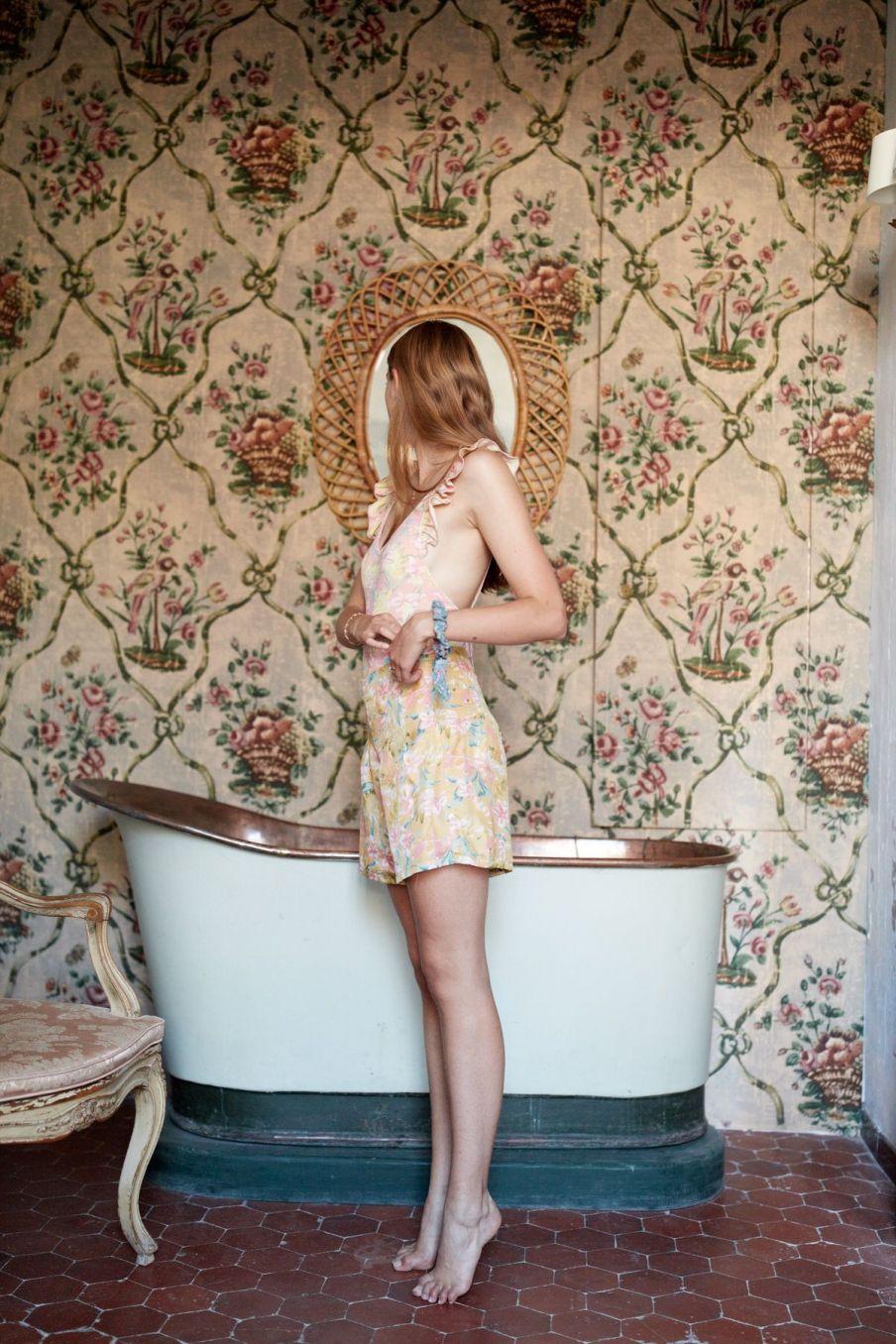 boheme chic vintage maillot de bain femme reva sienna parrots