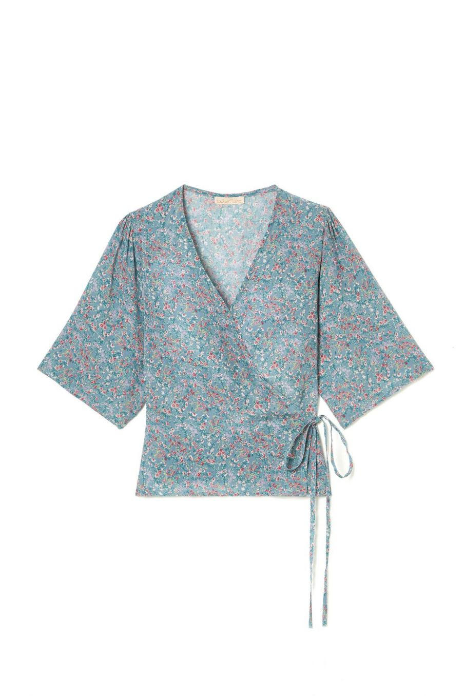 boheme chic vintage blouse femme roseville storm spring flowers