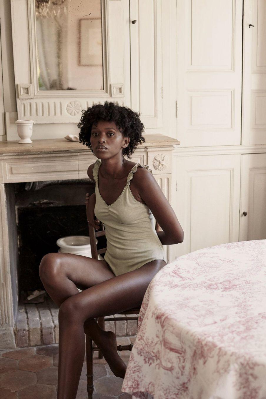 boheme chic vintage body femme emmy light olive