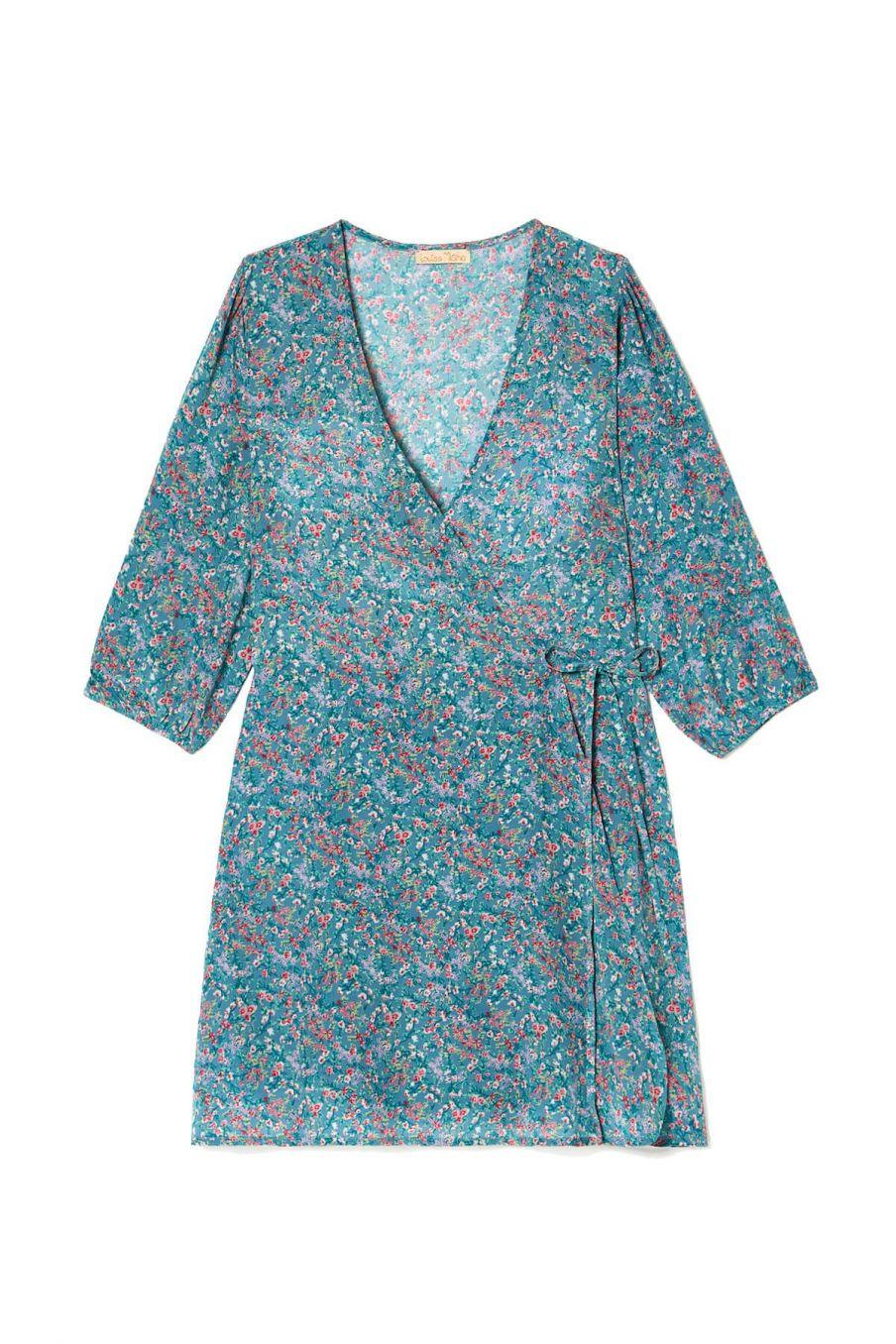 boheme chic vintage robe femme barbara storm spring flowers