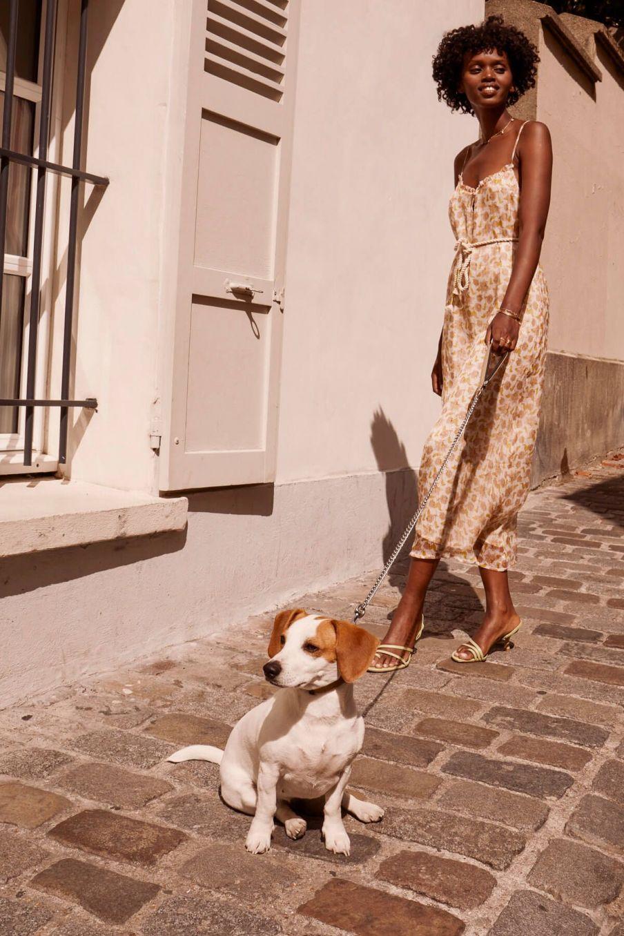 boheme chic vintage robe femme chamane blush flowers lurex