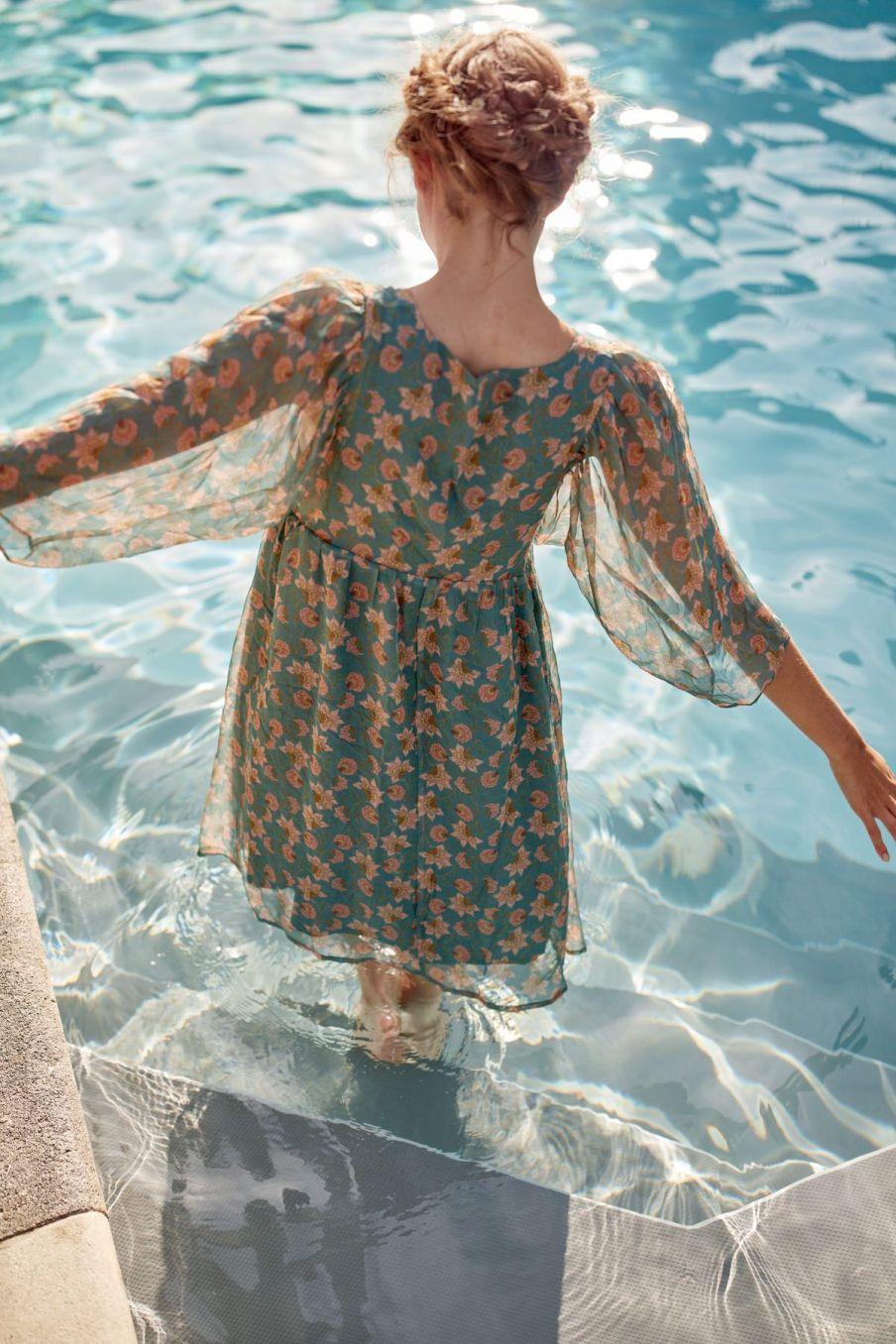 boheme chic vintage robe femme otti storm flowers