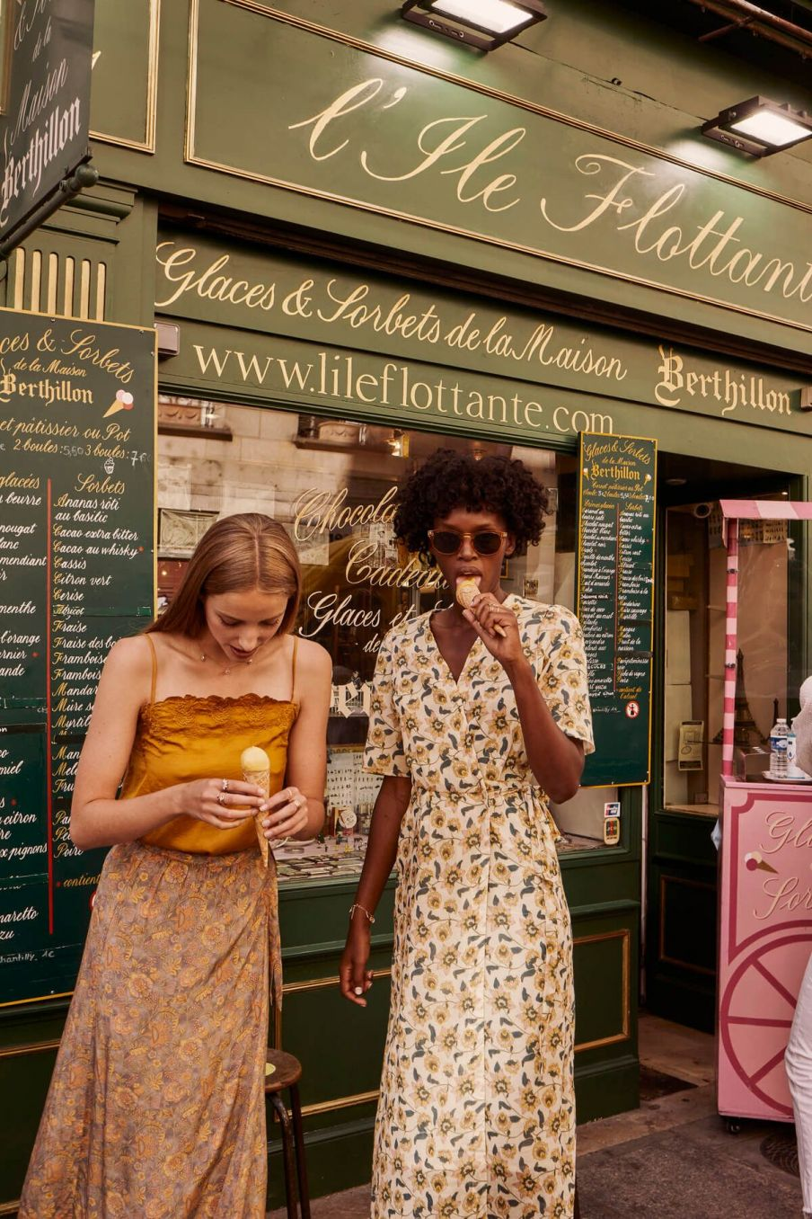 boheme chic vintage robe femme steria cream flowers