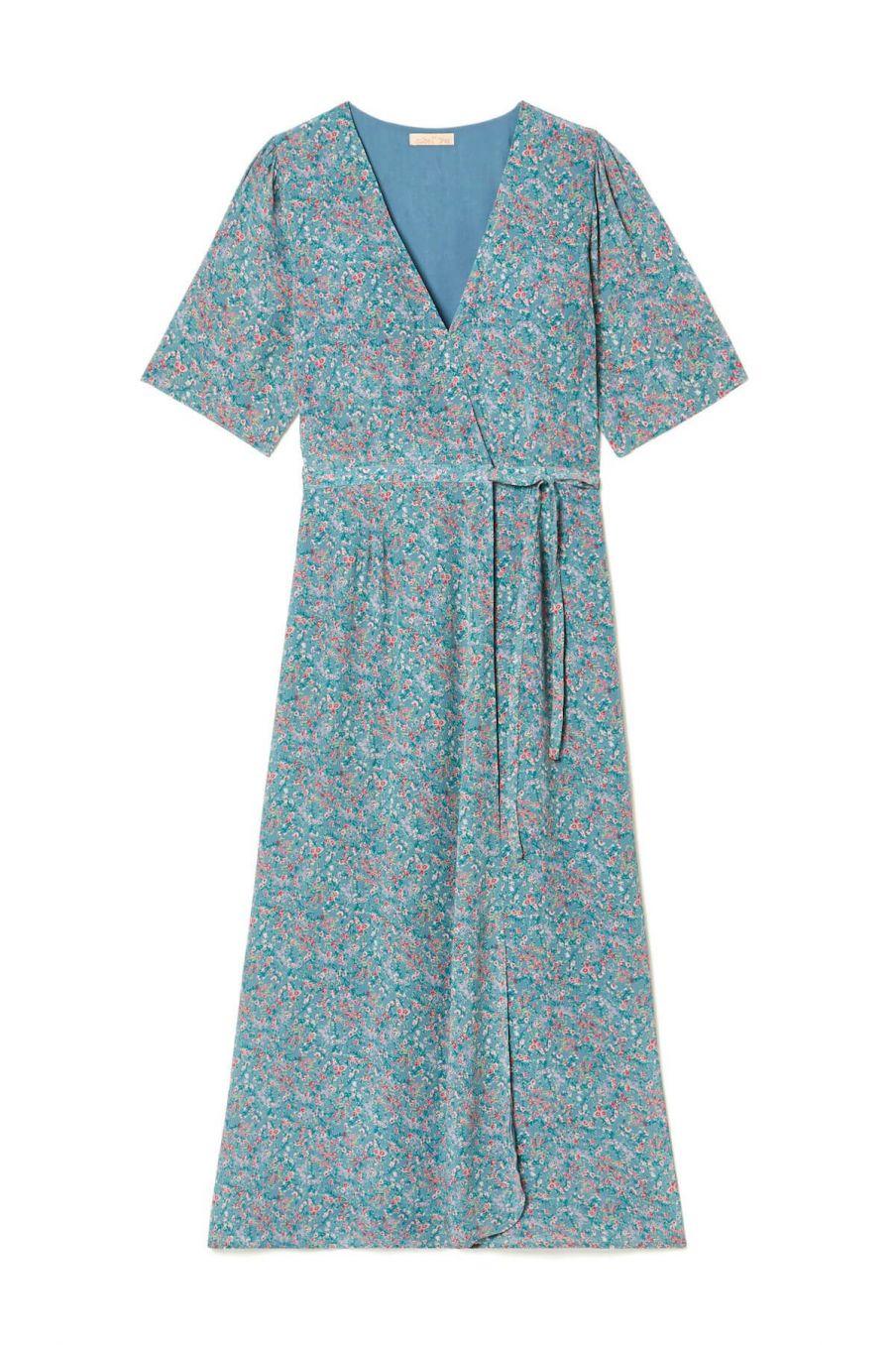 boheme chic vintage robe femme steria storm spring flowers
