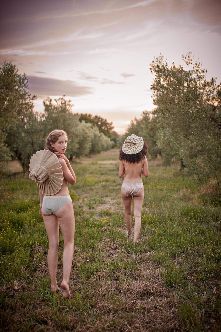 boheme chic vintage culotte femme sucra light olive