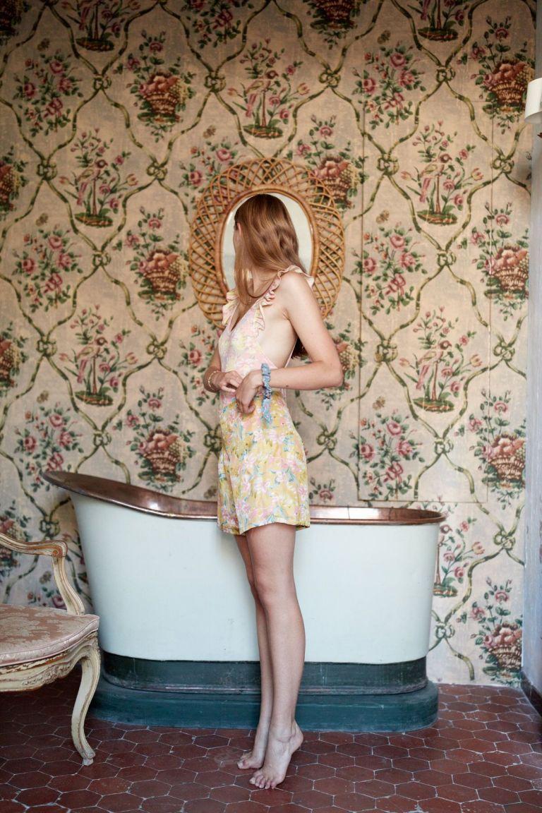 boheme chic vintage short femme toucan soft honey parrots