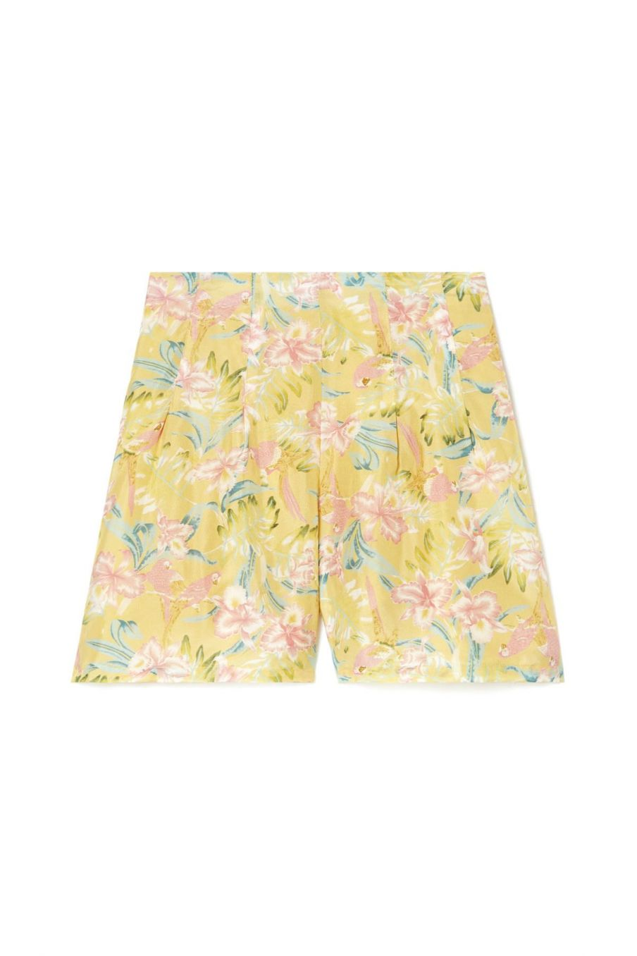boheme chic vintage short femme toucan soft honey parrots