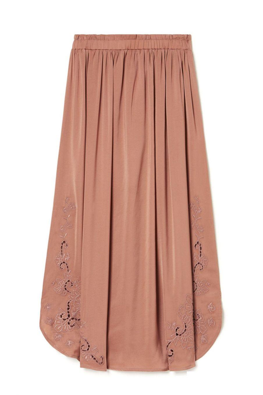 boheme chic vintage jupe femme maya sienna