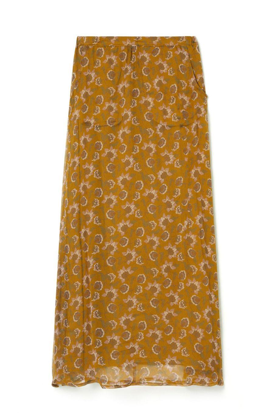 boheme chic vintage jupe femme yungalina cinnamon flowers