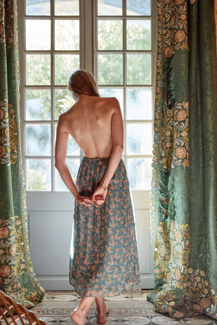boheme chic vintage jupe femme yungalina storm flowers