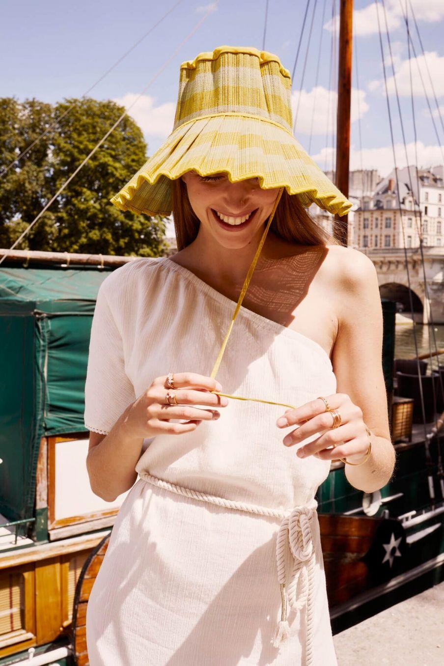 boheme chic vintage chapeau femme capri swanbourne beach