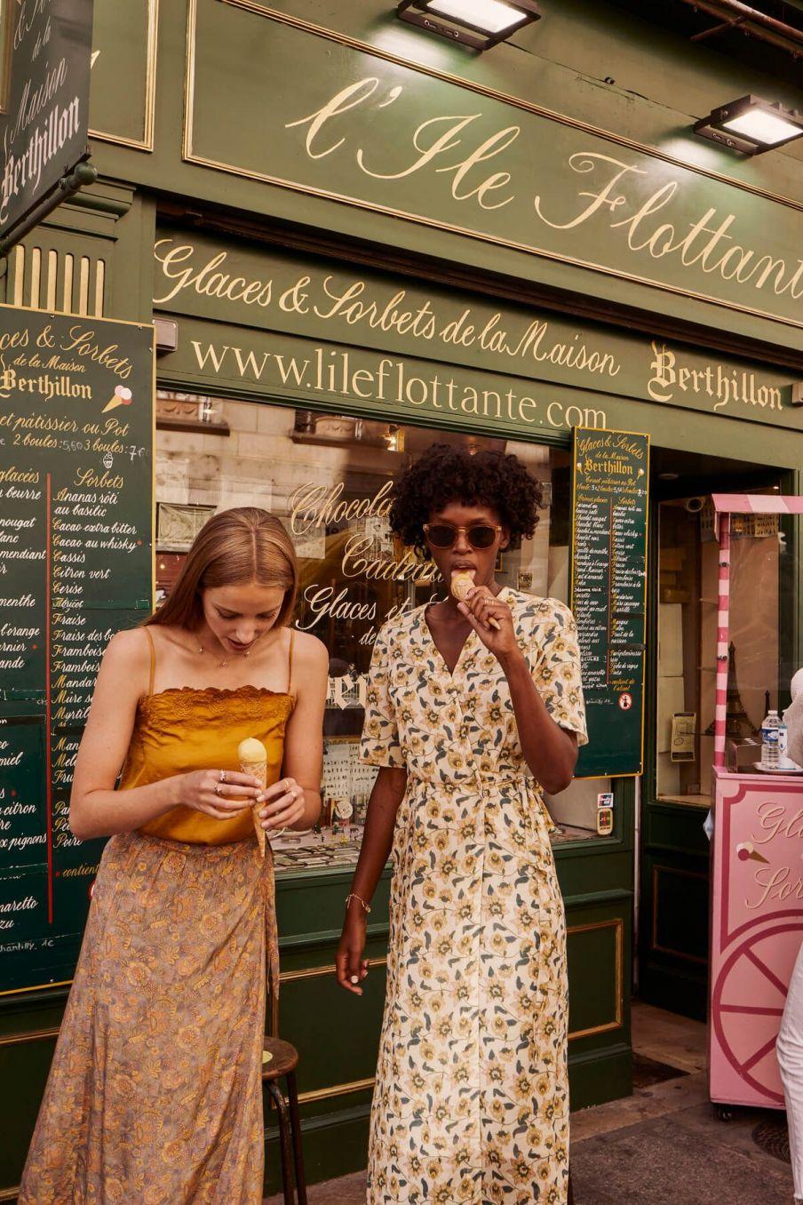 boheme chic vintage top femme julia cannelle