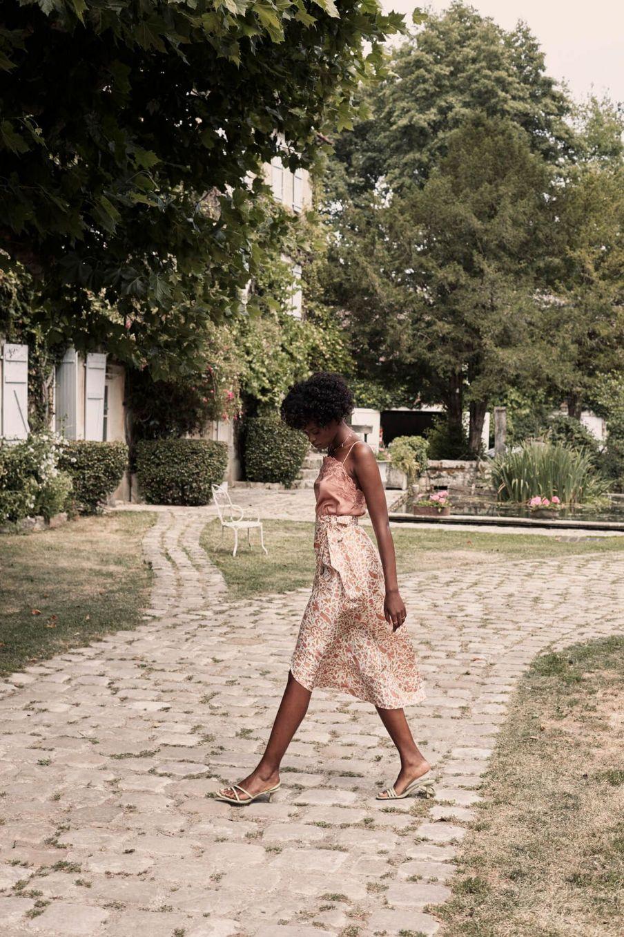 boheme chic vintage top femme julia sienna