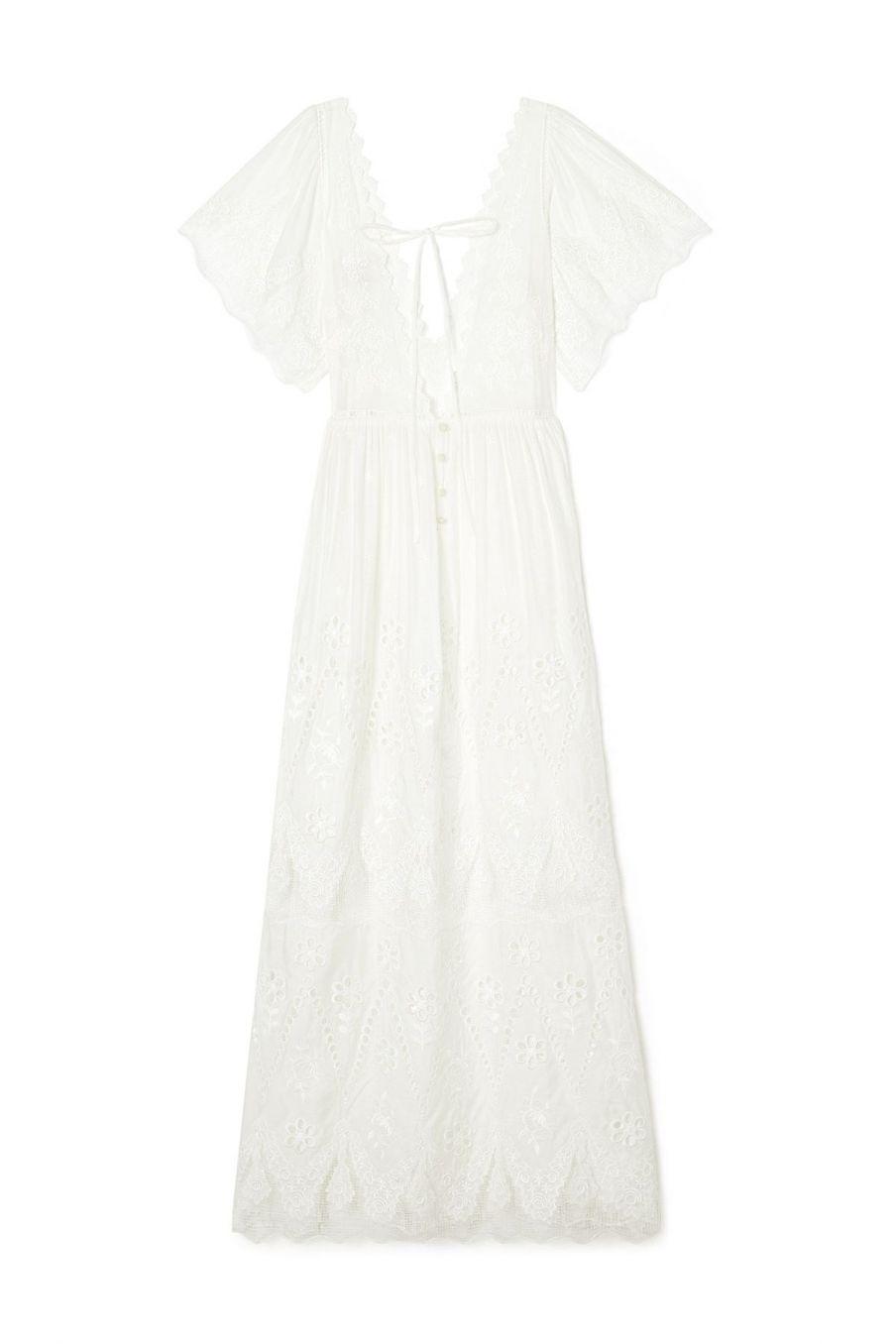 boheme chic vintage robe de mariée femme alice ecru