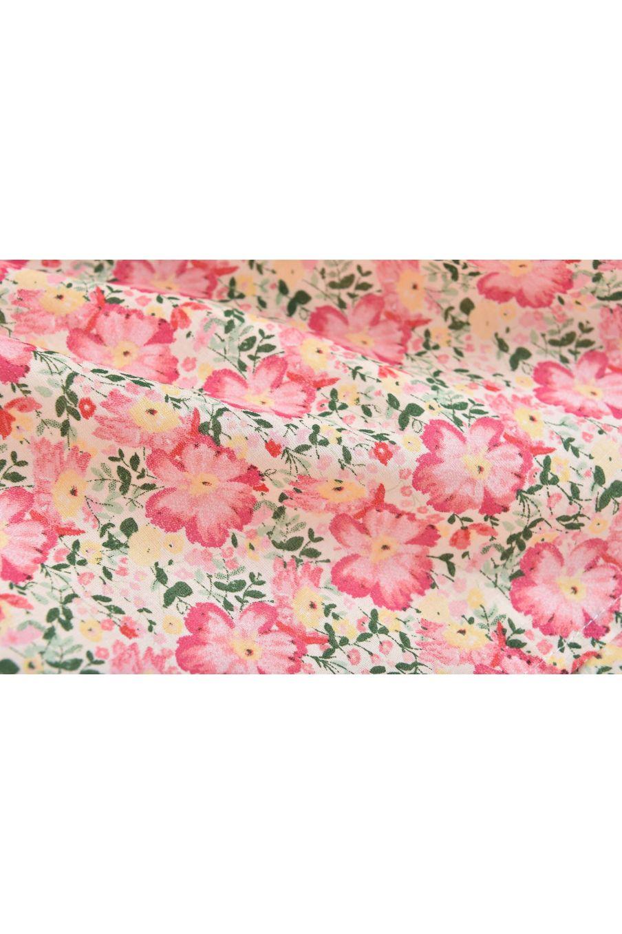 bohemian chic vintage dress girl christina pink meadow