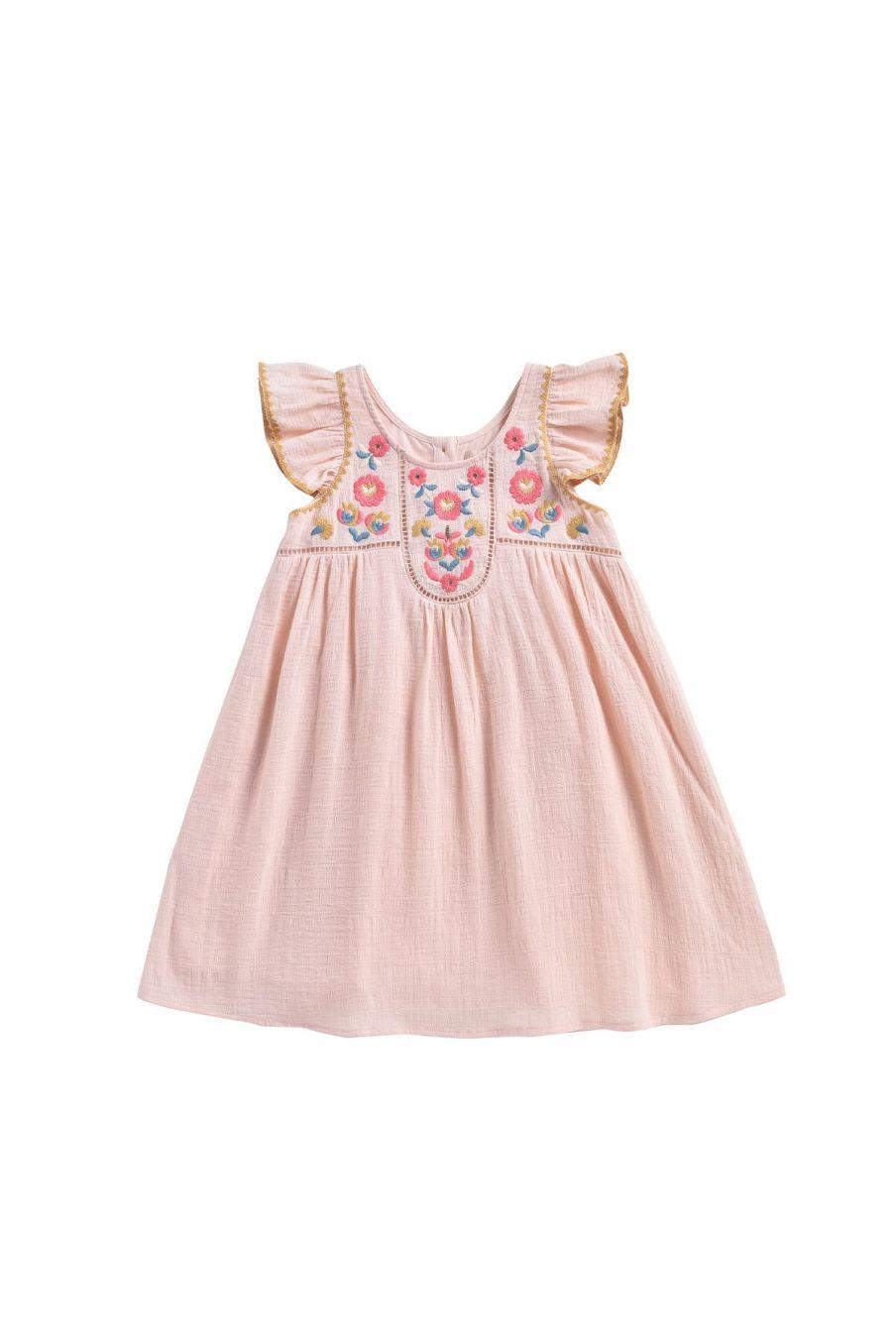 bohemian chic vintage dress girl jendahiu blush