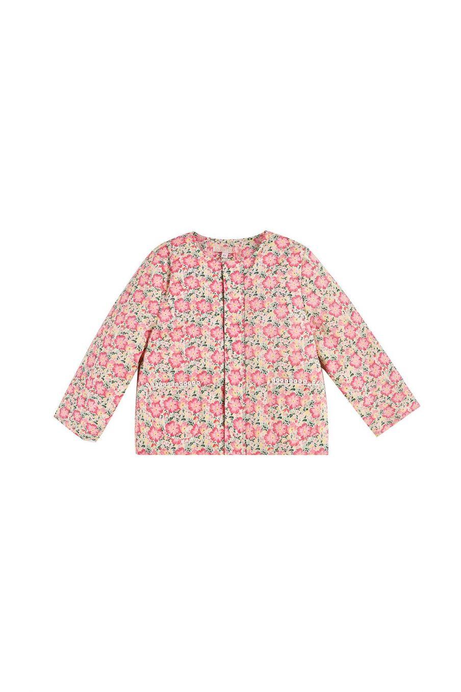 bohemian chic vintage jacket girl soluta pink meadow