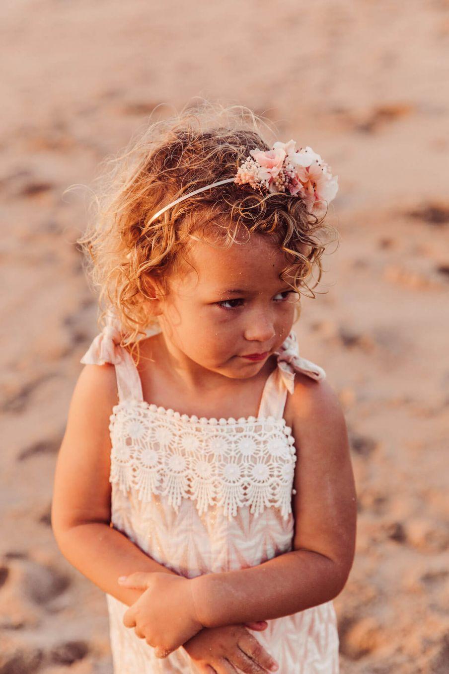 boheme chic vintage salopette bébé fille panolo blush psyche lurex