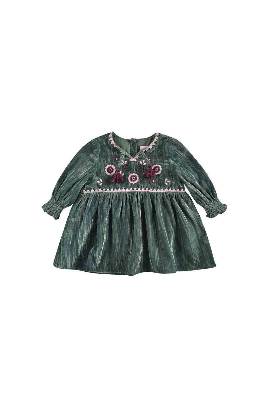 robe bebe fille josette sauge - louise misha
