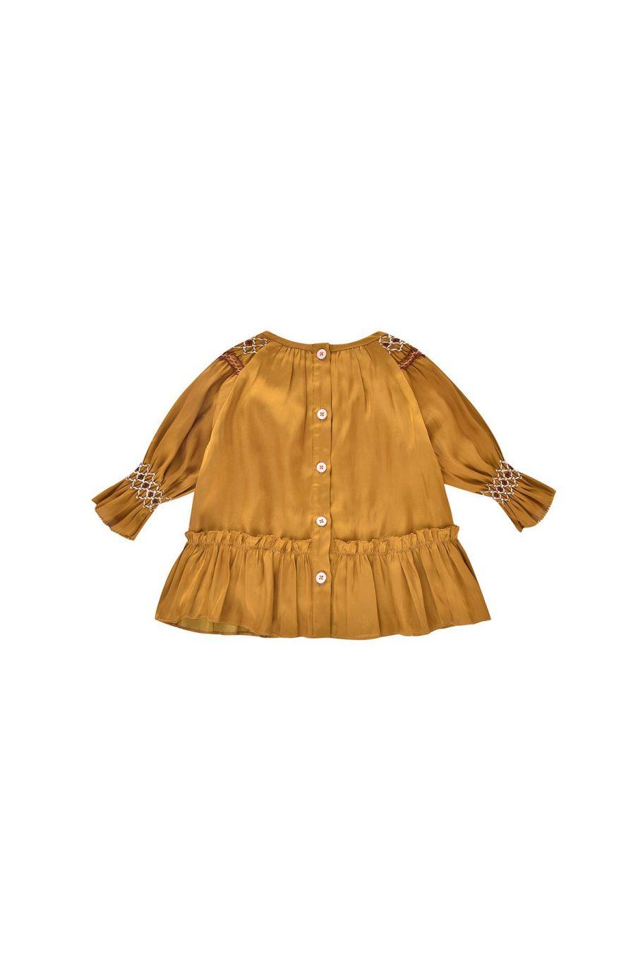 robe bebe fille sonia bronze - louise misha