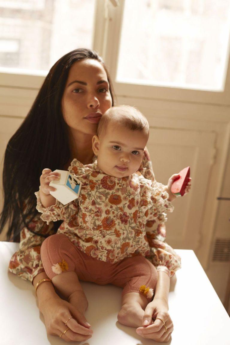 leggings bebe fille moldavia sienna - louise misha