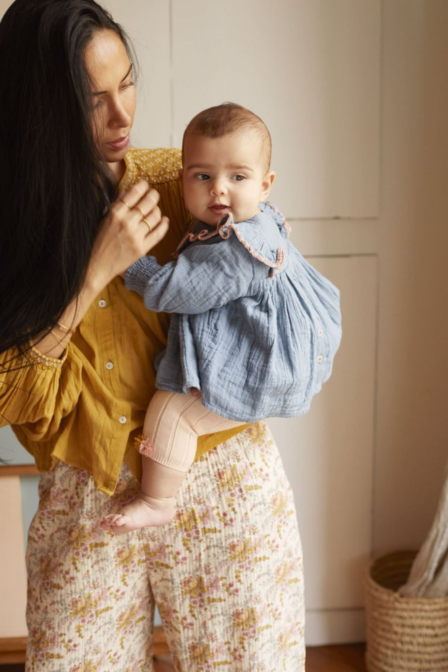 leggings bebe fille moldavia blush - louise misha