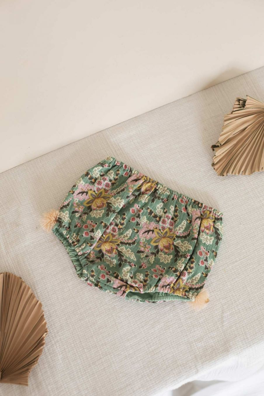 bloomers bebe fille valentine blue french flowers - louise misha