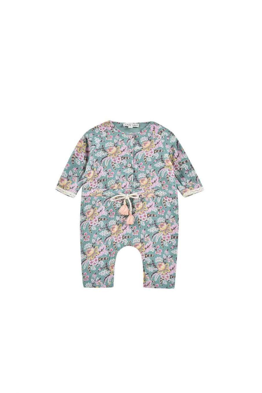 combinaison bebe fille jenna blue french flowers - louise misha