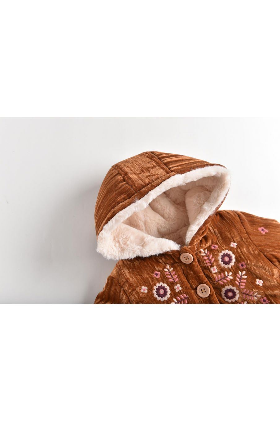 veste bebe fille nalidee caramel - louise misha