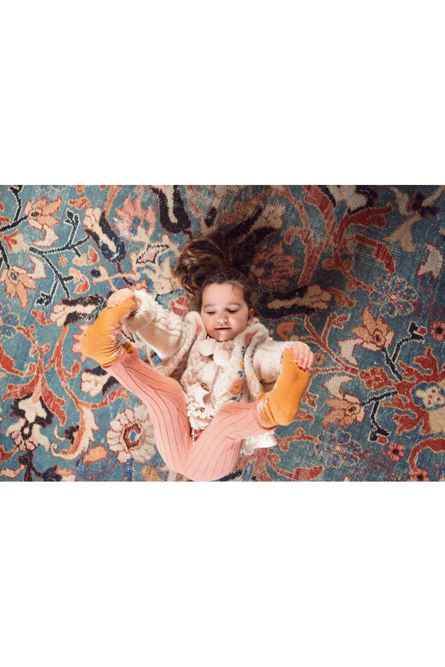 cape bebe fille clara cream - louise misha