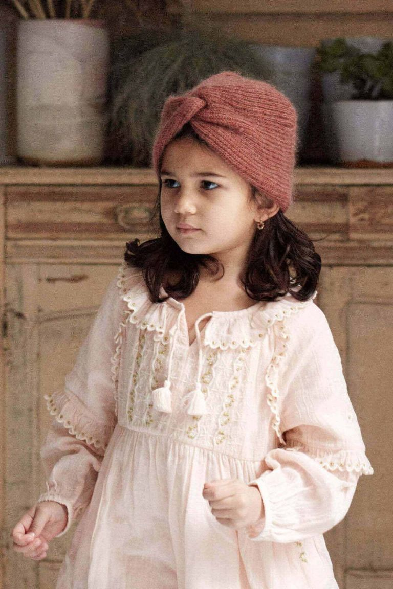 bonnet fille abina tobacco - louise misha