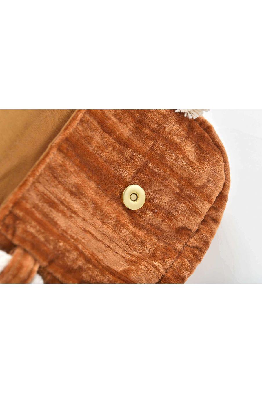 sac fille poppy caramel - louise misha