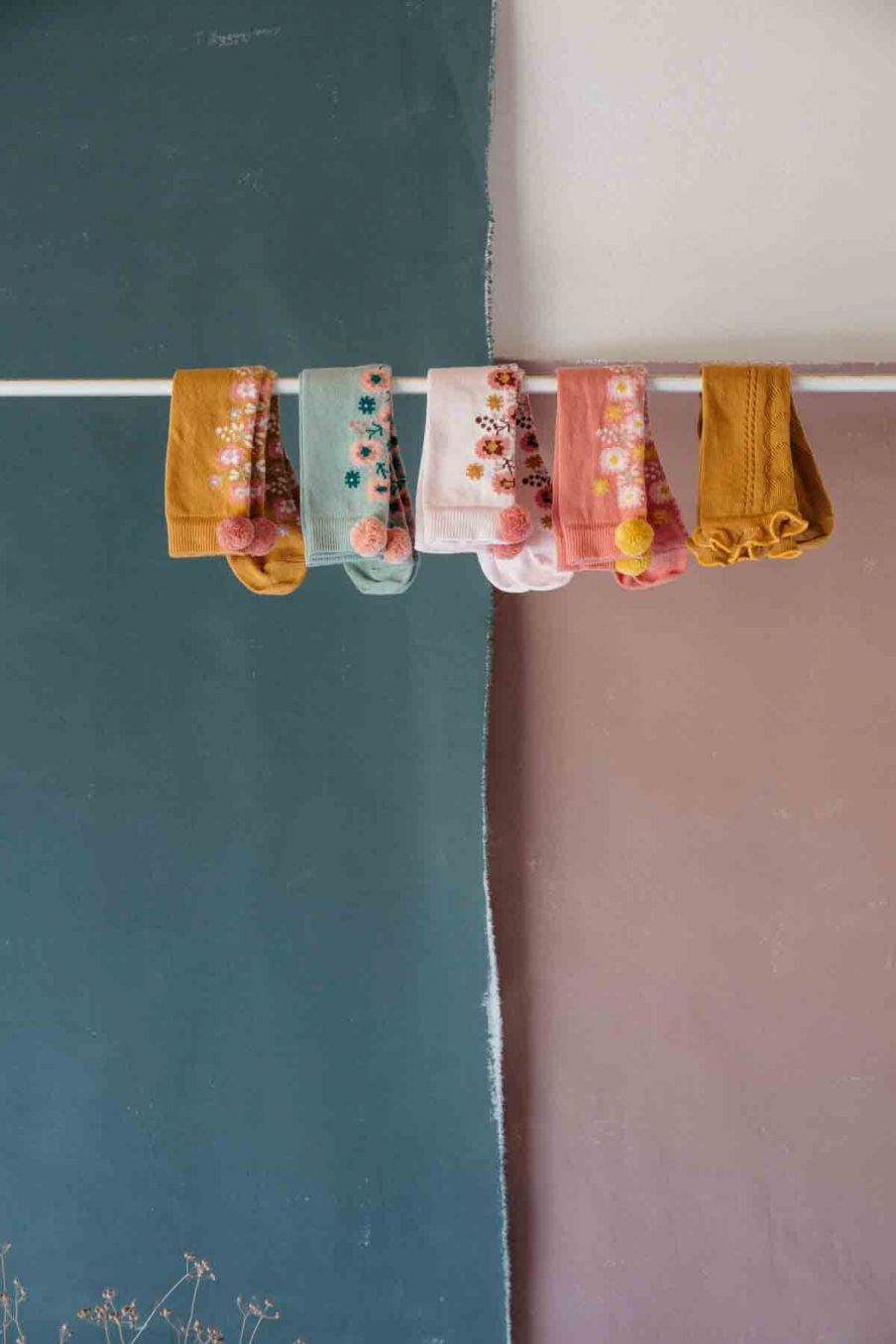 chaussettes bebe fille chelie pink - louise misha